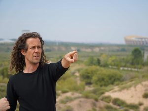 Swiss Filmmaker/Artist A.F. Plans His Shots in Ordos Ghost City