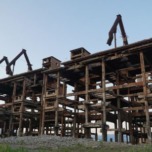 Albania - Abandoned Factory Complex 3