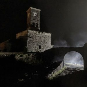 Albania - Gjirokaster Fortress - Night