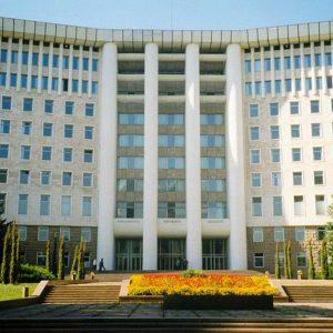 Moldova Parliament Building
