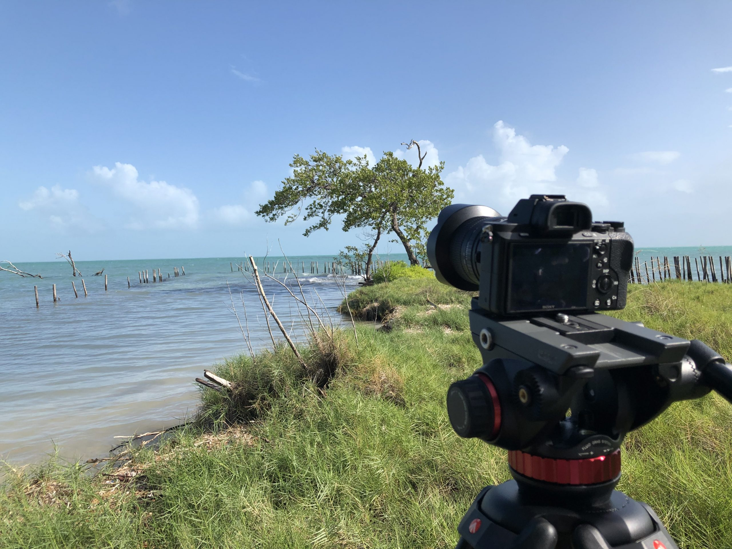 Filming on a Private Island