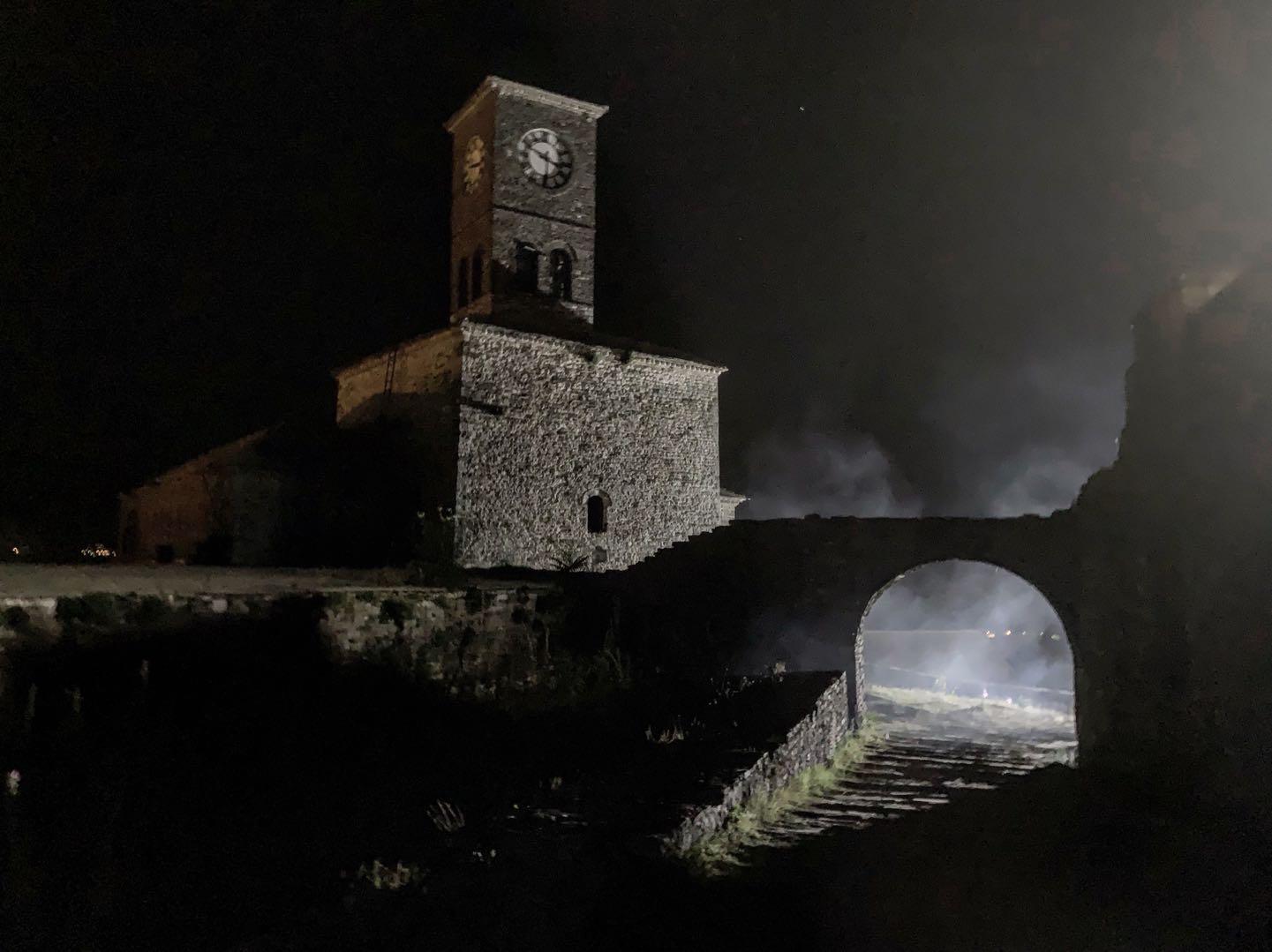 Explaining the Albania Part to Castle Freak